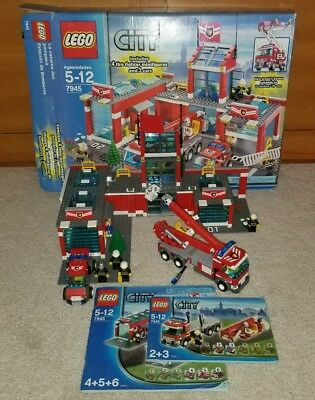 Lego 8289 Technic Fire And Rescue Truck Including 2 Bogo Legoland