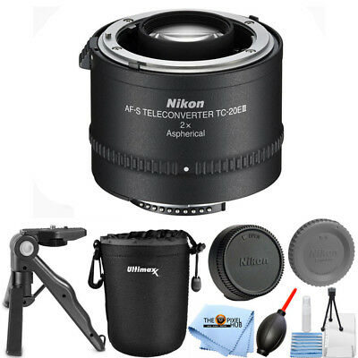 Nikon TC-20E III 2x Teleconverter for AF-S & AF-I Lenses STARTER KIT BRAND NEW