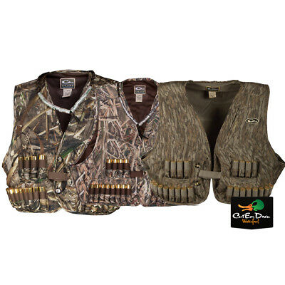 00375aa63561a DRAKE WATERFOWL OL Tom Time And Motion Easy Rider Camo Turkey Vest ...