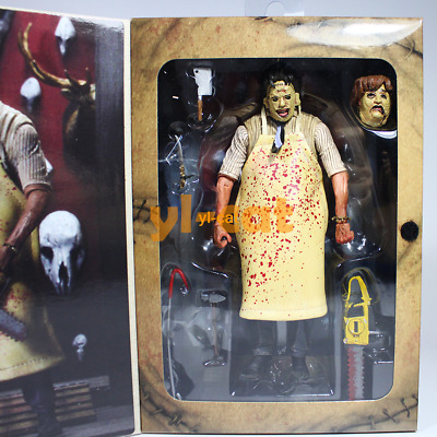 """NECA Texas Chainsaw Massacre Leatherface Ultimate 7"""" Action Figure 40th Anni."""