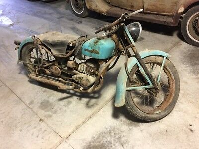 1953 Harley-Davidson Other  1953 Harley Davidson Hummer , patina, original paint , barn find, 165