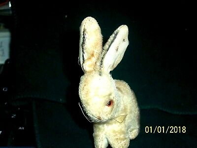 Antique Well Played With Mohair Bunny As-Is