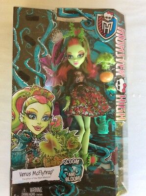 Monster High Gloom And Bloom Venus McFlytrap Daughter Of The Plant Monster New