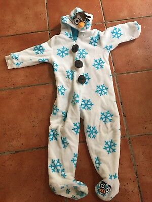Olaf Frozen Childs All In One Playsuit Original Disney 3-4 Years