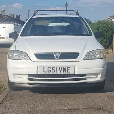 vauxhall astra van 1.7TD 1 owner from new, low mileage,