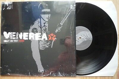 Venerea LP Out in the red Skate Punk 2003 EX Satanic Surfers Atlas Losing Grip