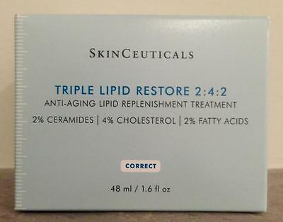 SkinCeuticals  TRIPLE LIPID RESTORE 2:4:2 1.7OZ / 48 ML  NIB SHIPS FREE TO USA!