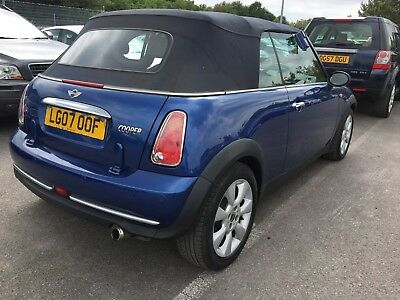 07 Mini Cooper 1.6 Convertible Leather, Aircon, Alloys, 1 F/owner, Fabulous Car