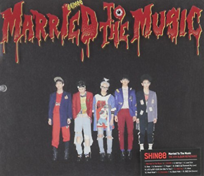 Shinee-Married To The Music  Cd New