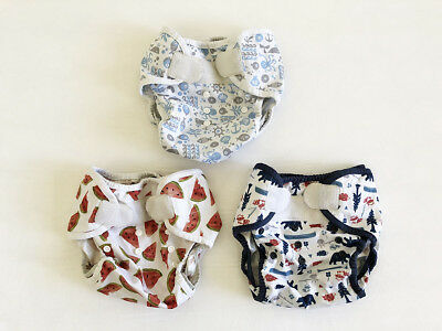 Thirsties diaper covers (set of 3) size two (9-36 months :: 18-40lbs)