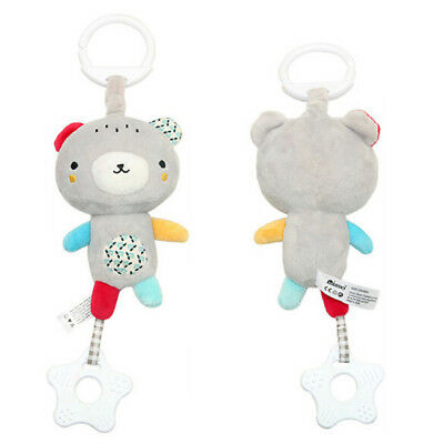 Baby Stroller Plush Soft Toys Crib Bed Hanging Animal Handbell Infant Toy 6A