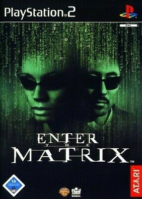 PS2 / Sony Playstation 2 Spiel - Enter the Matrix mit OVP