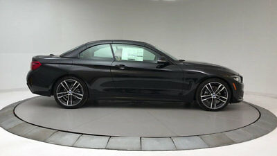 BMW 4 Series 430i 430i 4 Series New 2 dr Convertible Automatic Gasoline 2.0L 4 Cyl Black Sapphire