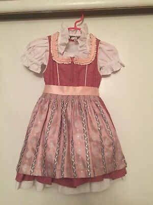 girls dirndl 74/80 9-12 Month like new