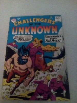 Challengers  of the Unknown #13 VG- 1960 DC comic