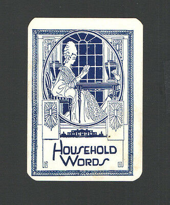 Victorian Tradecard Narwolds Chocolates Cleveland Canton Ohio Household Words #8