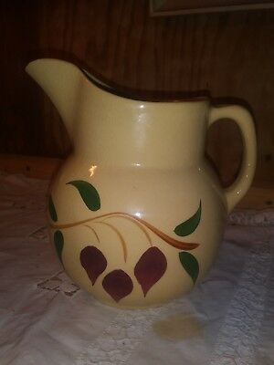 Watt Pottery HTF #16 Teardrop Pitcher