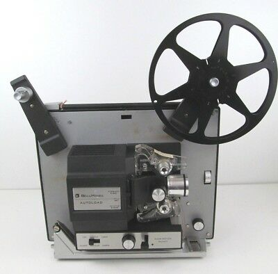 Vintage BELL & HOWELL AUTOLOAD 462SA SUPER 8 PROJECTOR *NEEDS NEW BULB