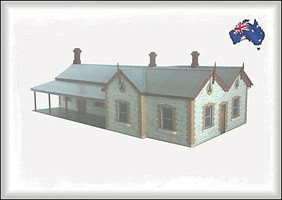 HO Scale Australian STONE RAILWAY STATIONS (1870s to early 1900s)