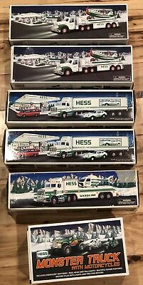 Hess toy truck lot