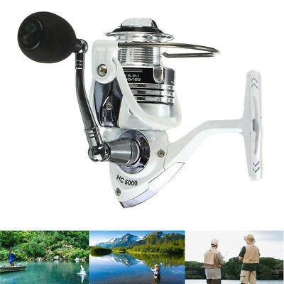14BB Ball Bearing Metal Saltwater/Freshwater Fishing Spinning Reel Portable
