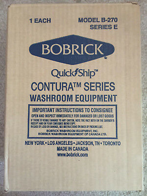 Bobrick B 270 Surface-Mounted Sanitary Napkin Trash Disposal Receptacle Refuse
