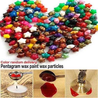 100X Sealing Wax Beads For Retro Seal Stamp Wedding Envelope Invitation Card
