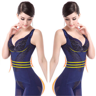 Women Full Body Shaper  Girdle Shapewear Bodysuit Waist Cincher Corset Plus Size