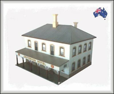 HO Scale Australian TYPICAL AUSTRALIAN TOWN and COUNTRY HOTEL