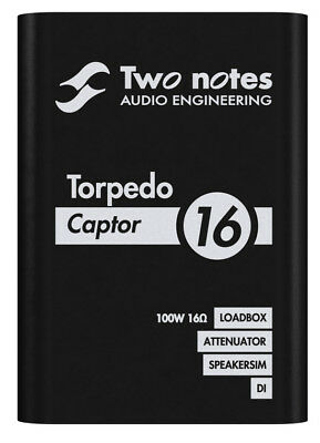 TWO NOTES Torpedo Captor 16 Lautsprecher-Simulator