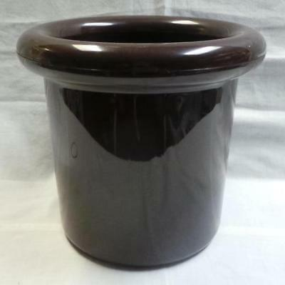 Retro Vintage Decor Insulated Wine Cooler Chocolate Brown