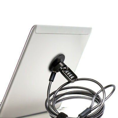 Password Cable Lock Durable Fit For Laptop Notebook iPad Tablet Phone Unique