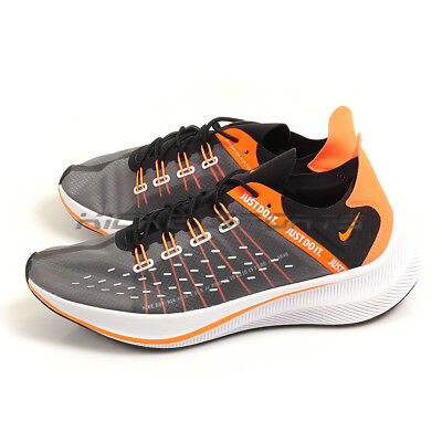 sports shoes bbb4f 13491 Nike EXP-X14 SE Just Do It Black Total Orange-White Running Shoes