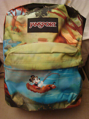 e6b5e24641 JANSPORT DISNEY HIGH Stakes Mickey Mouse Camp Backpack School Travel ...