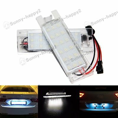 LED LICENSE NUMBER PLATE LIGHT - VAUXHALL OPEL CORSA D ASTRA H INSIGNIA Zafira B