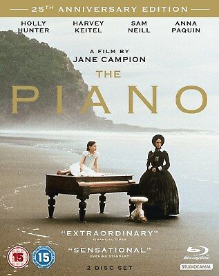 The Piano (25th Anniversary Edition with CD) [Blu-ray]