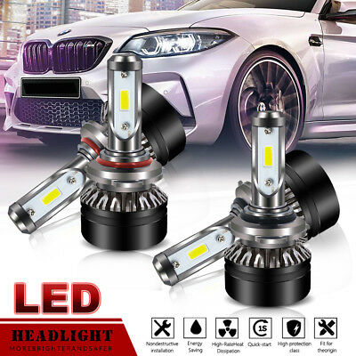 Car Headlight Fog Bulb Kit 9005 And 9006 LED Combo High/Low Beam Super Bright