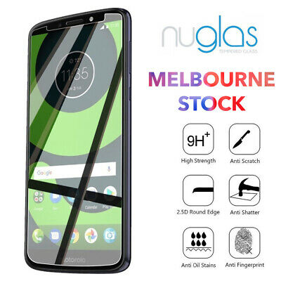 Nuglas Tempered Glass Screen Protector For Motorola Moto G7 G6 G5 G4 Play Plus