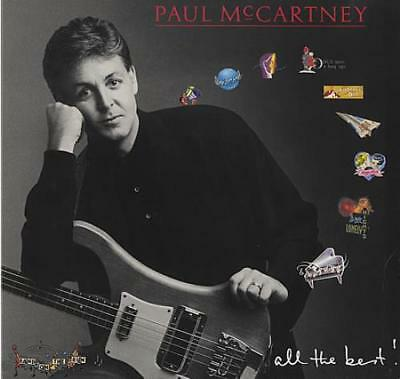 All The Best - EX Paul McCartney and Wings UK 2-LP vinyl record (Double Album)