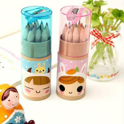 12Colors Artist Drawing Painting Sketching Drawing Pencils With Sharpener