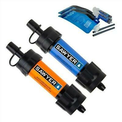 Sawyer Sp2103 Mini Water Filtration System 2Pc Multipack Blue Orange