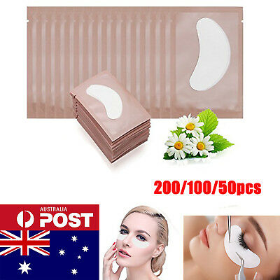 200 Pairs Eyelash Pad Eye Pad Gel Patch Lint Free Lashes Extension Mask Eyepad