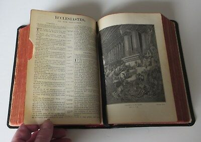 1908 Bagster Art Bible Old and New Testaments