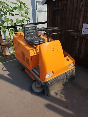 RCM Electric Sweeper Complete With Charger And New Batteries