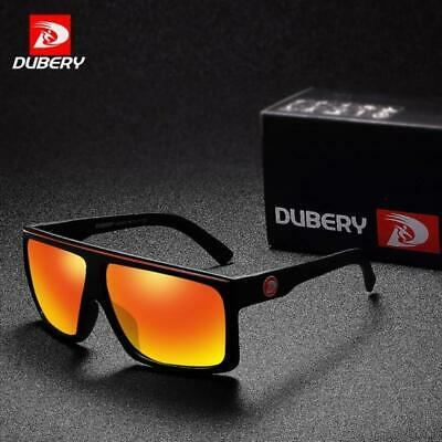 DUBERY Men Polarized Sport Sunglasses Women Outdoor Driving Coating Glasses New