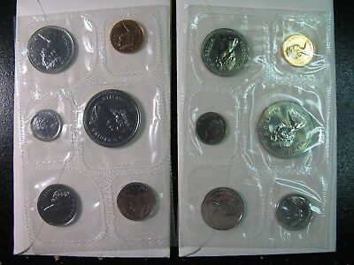 Canada, Seven Proof Like Sets Dated 1973, 76, 78, 93, 96 & 2000(2)