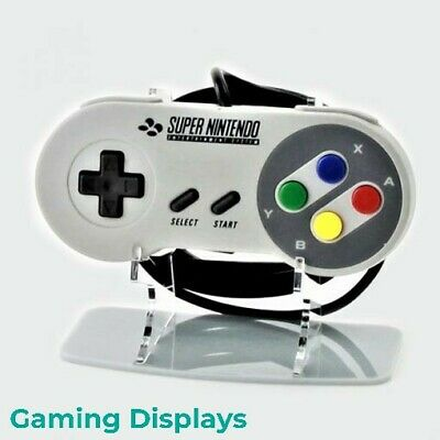 Nintendo SNES Controller Stand, Gaming Displays, Retro, Collection, 54 Colours