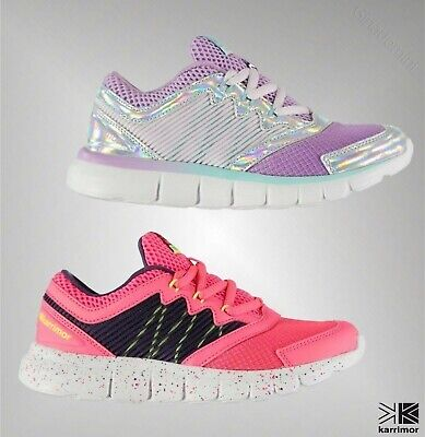 Girls Karrimor Sport Gym Breathable Stellar Running Shoes Trainers Sizes C11-2