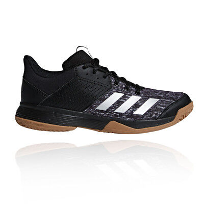 adidas Womens Ligra 6 Court Shoes Black Sports Handball Netball Trainers