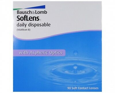 90 x Soflens Daily Disposable Tageslinsen von Bausch & Lomb